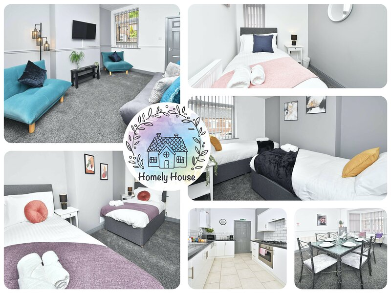 King's Terrace: A gorgeous modern space in a great location to explore, holiday rental in Burslem