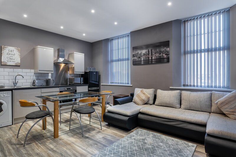 Darlington Town Centre Open Plan Luxury Apartment, holiday rental in Walworth