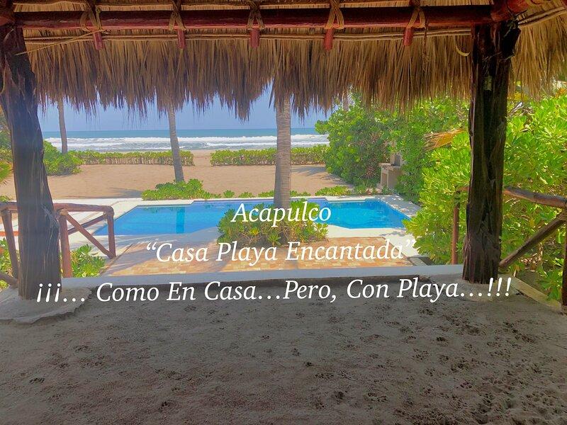 ACAPULCO 'CASA PLAYA ENCANTADA' JULIO CON NOCHE DE REGALO, vacation rental in Acapulco