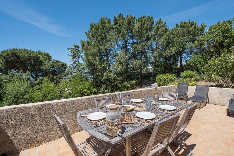 La Pinède - Maison vue mer, location de vacances à Pietrosella