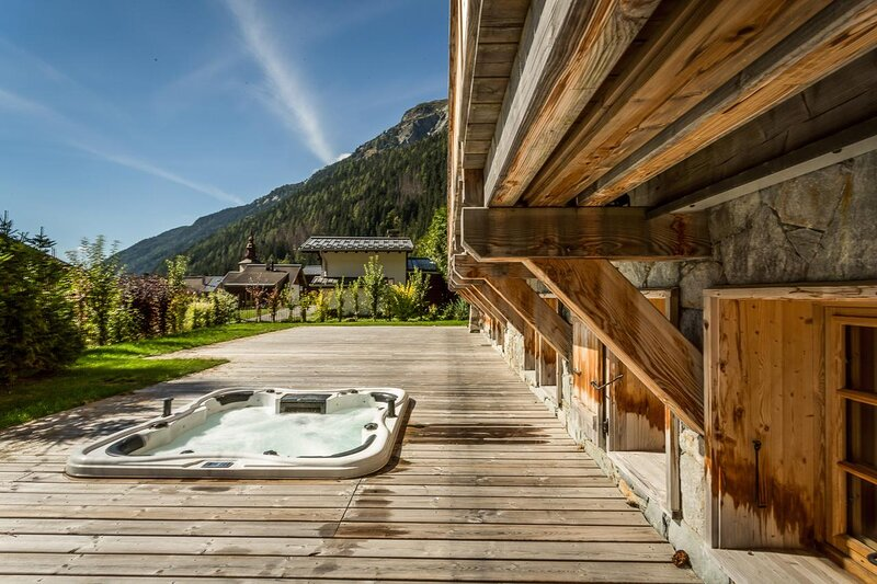 Luxury Chalet with spectacular views, casa vacanza a Vallorcine