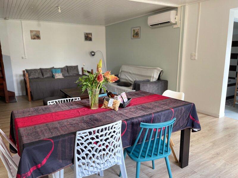 Ti Kaz Papang LéO la Réunion, holiday rental in La Plaine des Cafres