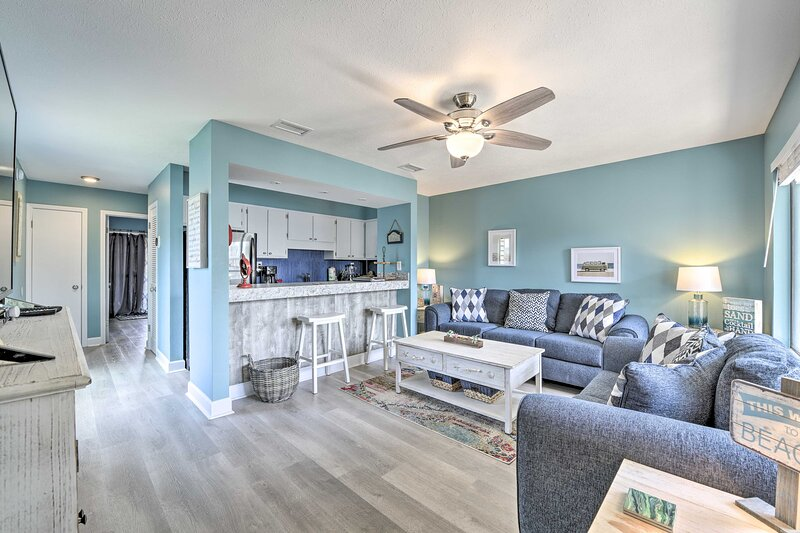 Panama City Beach Vacation Rental | 1BR | 1BA | 600 Sq Ft | Stairs Required