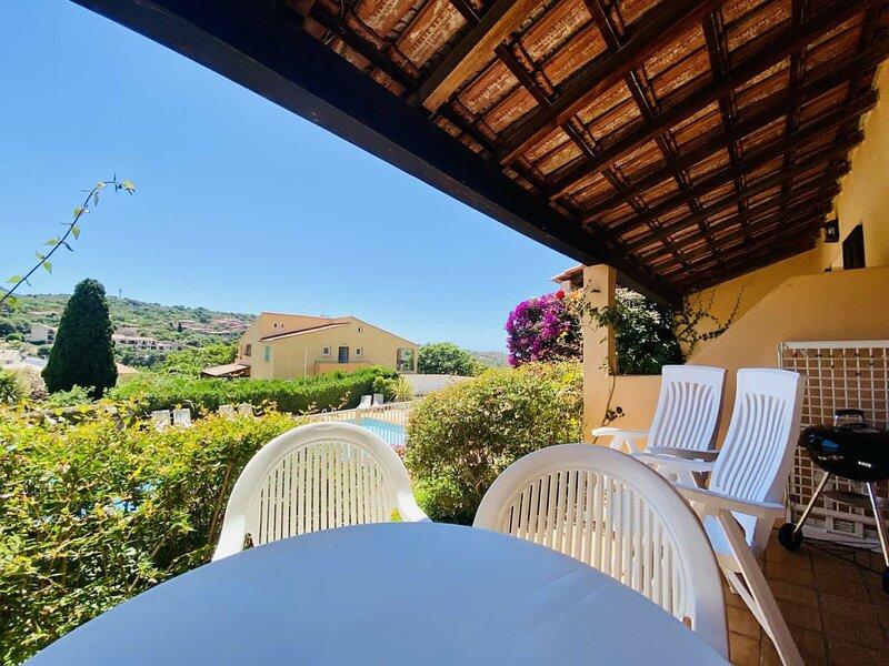Duplex vue Piscine A, location de vacances à Viggianello