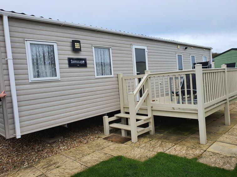 Butlins Skegness 3 bedroom gold deluxe caravan, vacation rental in Ingoldmells