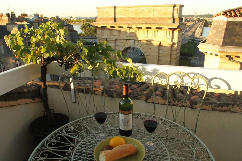 Bordeaux Terrace - spectacular view, fast Wifi, holiday rental in Cenon