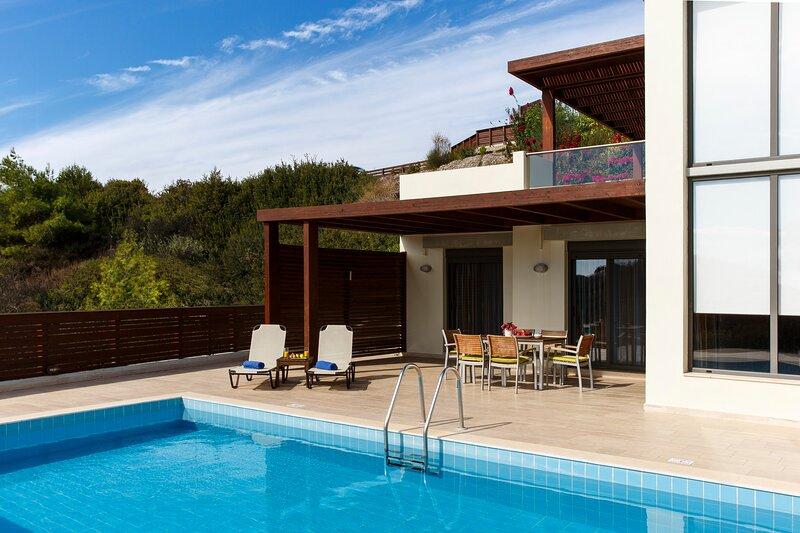 Gonos Villa A, holiday rental in Kiotari