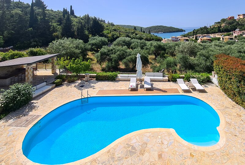 Special Offers: Villa Sapphire With Private Pool in Syvota Epirus, holiday rental in Parga