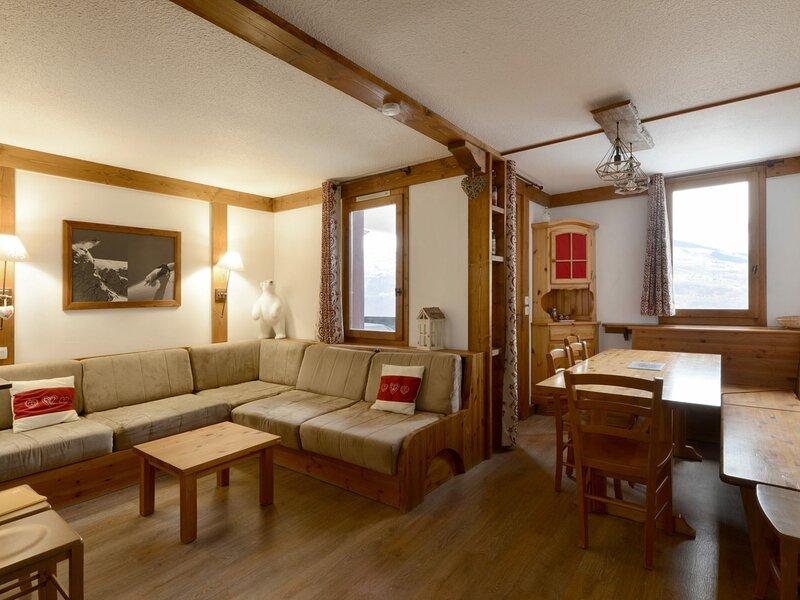 Magnifique appartement rénové, vakantiewoning in Montchavin