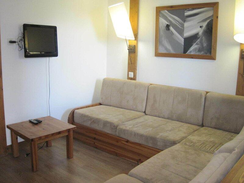 Beau studio duplex proche du centre, vakantiewoning in Montchavin