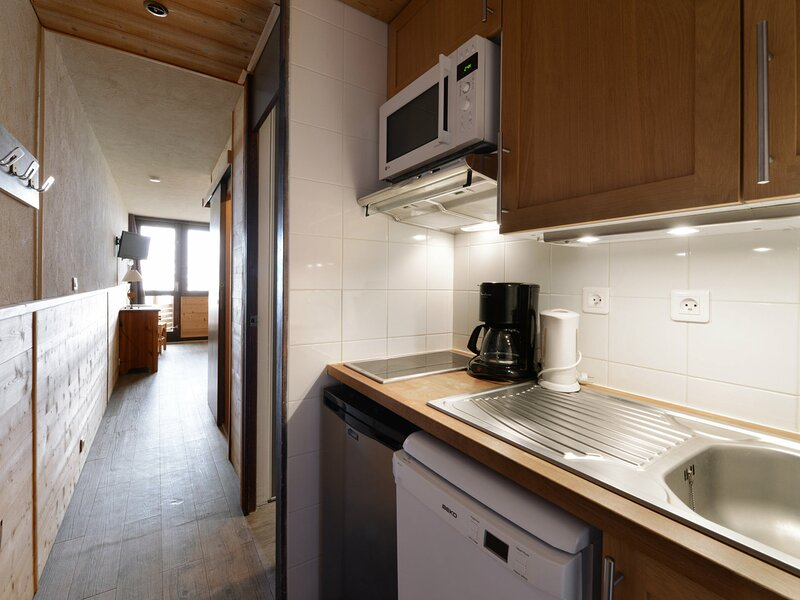 Studio cabine confort de 26m² au pied des pistes, holiday rental in Plagne Bellecote