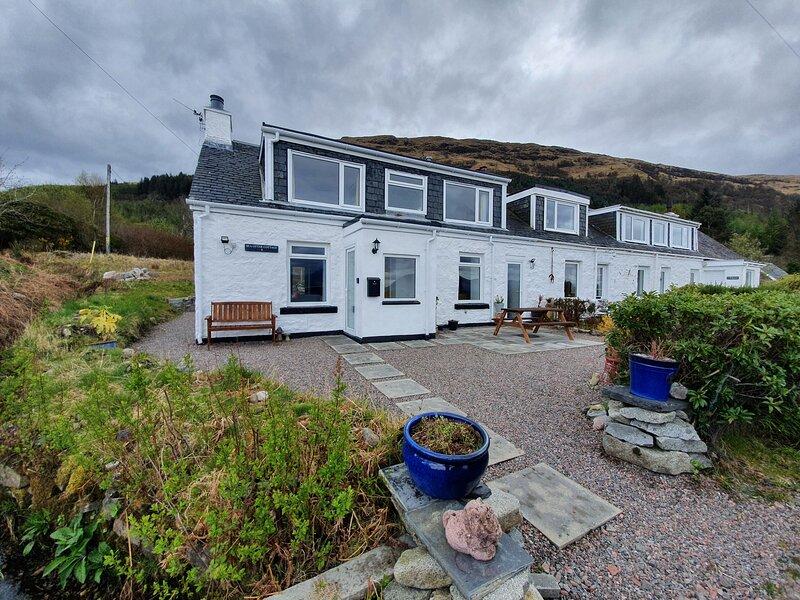 Sea Otter Cottage, Ballachulish, alquiler de vacaciones en Glencoe Village