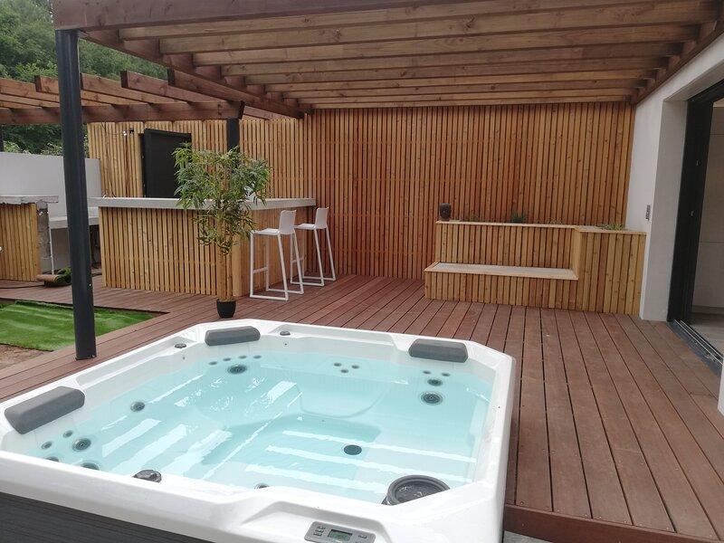 Amazing villa with garden & terrace, location de vacances à Labenne
