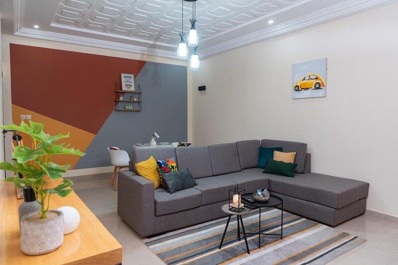 Appartement meublé et coloré à Lomé, aluguéis de temporada em Lome