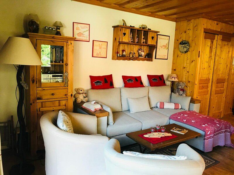 Résidence LE CHAPOLI - Cosy appartement tout confort, alquiler vacacional en Sixt-Fer-a-Cheval