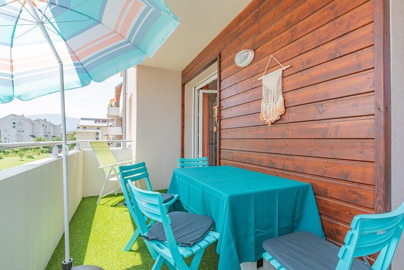 Cazalis - Apt 2 ch avec balcon, vacation rental in Aiguebelette-le-Lac