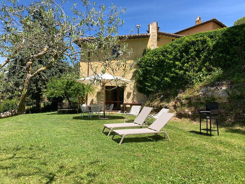 LA LICINA- Ginestra -, holiday rental in Spoleto