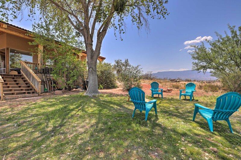 NEW! 'Casa Cielo': Scenic Home in AZ Wine Country!, location de vacances à Cornville