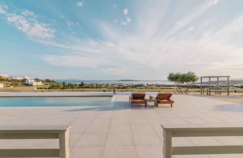 Olive Garden Luxury Resort Paros Pool & Seaview Suite I, alquiler de vacaciones en Aliki