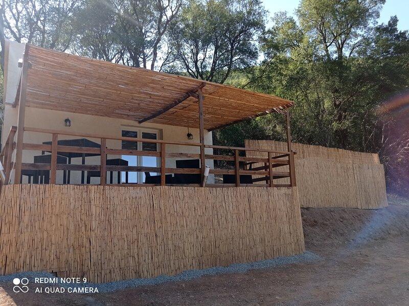 Maisonnette U Santu Ghjuvandria Mer et Montagne, holiday rental in Castello-di-Rostino