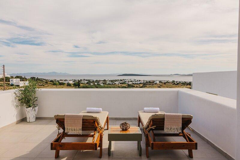 Olive Garden Luxury Resort Paros Jacuzzi & Seaview Suite II, alquiler de vacaciones en Aliki