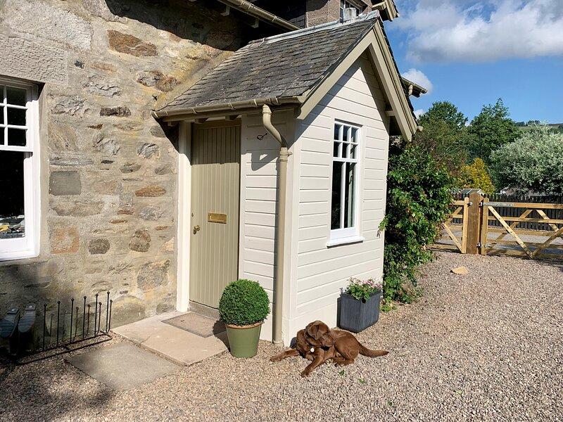 Old Schoolhouse, Grandtully, alquiler de vacaciones en Pitlochry