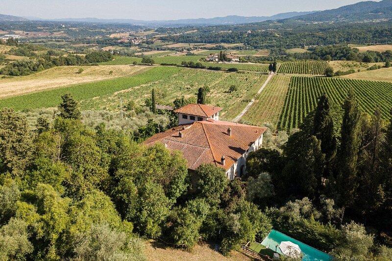 Villa Rignano, location de vacances à San Donato in Collina