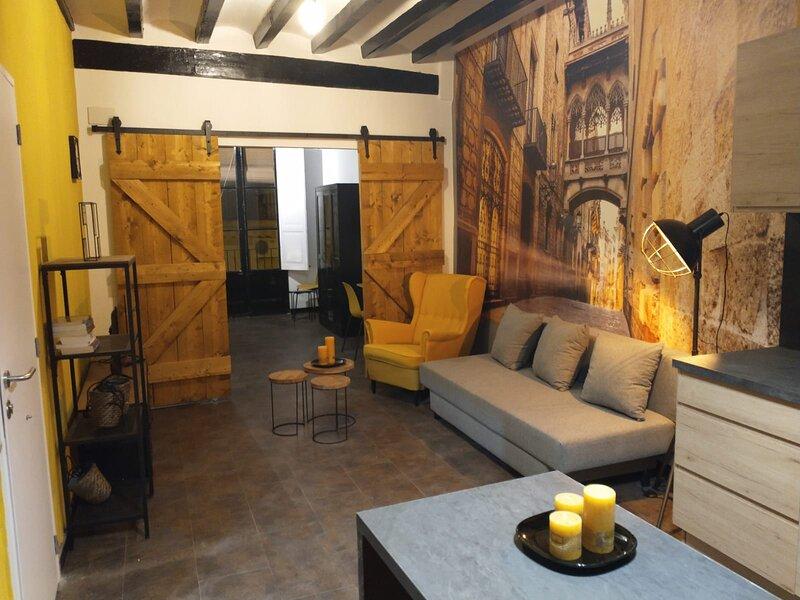 Luxe appartement in het centrum van Reus, holiday rental in Les Masies Catalanes