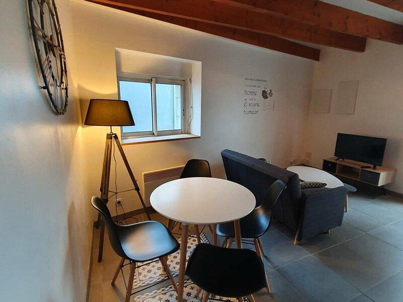 Appartement 3 personnes proche du centre ville de Vannes, location de vacances à Tredion