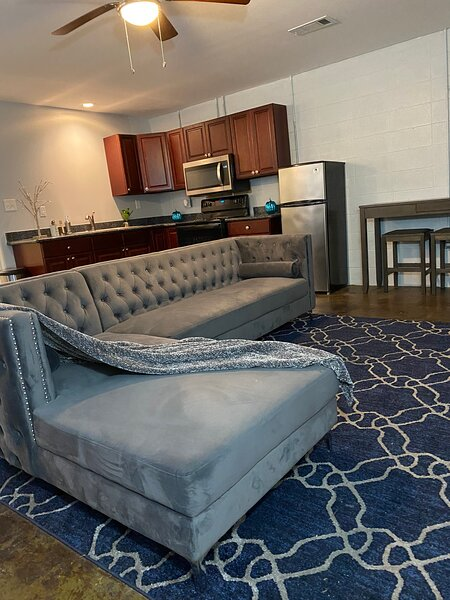 Chic Lofty Apartment 20 mins to Casinos, Beaches, & NOLA. Shopping Center 1 mile, vacation rental in Pearlington