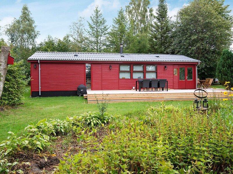 6 person holiday home in Bording, casa vacanza a Kjellerup