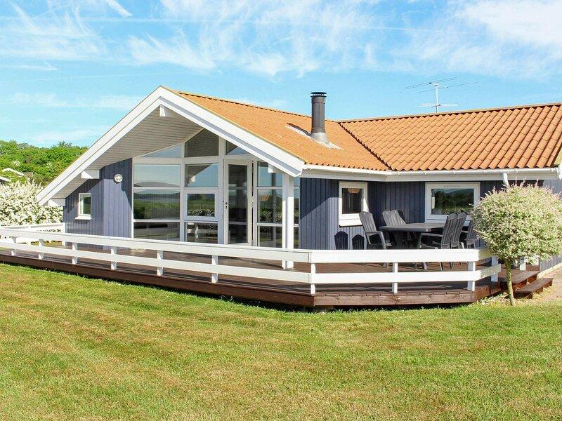Spacious Holiday Home in Svendborg with Sauna, location de vacances à Tranekaer