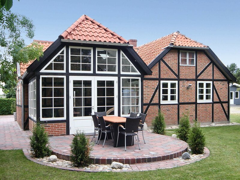 Contemporary Holiday Home in Hemmet with Whirlpool, location de vacances à Bork Havn
