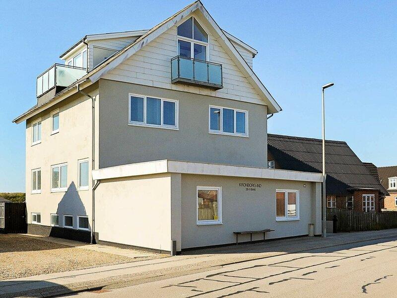 Classy Apartment in Thyborøn with Patio, alquiler vacacional en Thyboron
