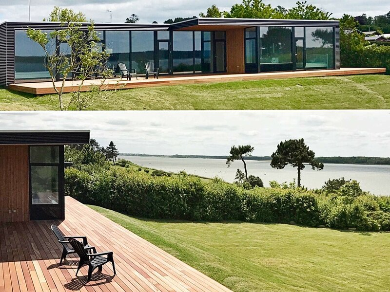 Vinatge Holiday Home in Hovedstaden with Roofed Terrace, location de vacances à Kulhuse