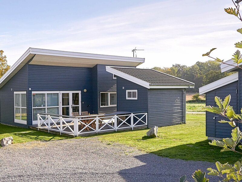 Modish Holiday Home in Bornholm with Terrace, holiday rental in Hasle