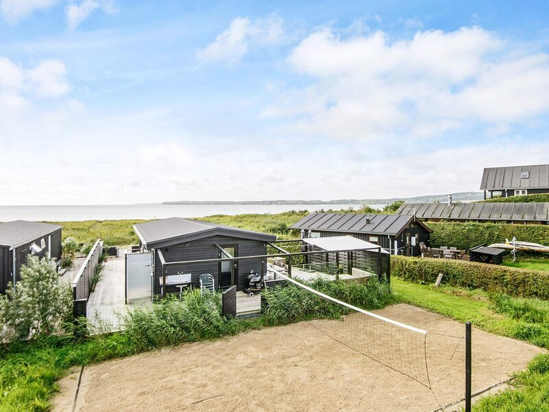 Alluring Holiday Home in Sønder Stenderup with Terrace, holiday rental in Bjert