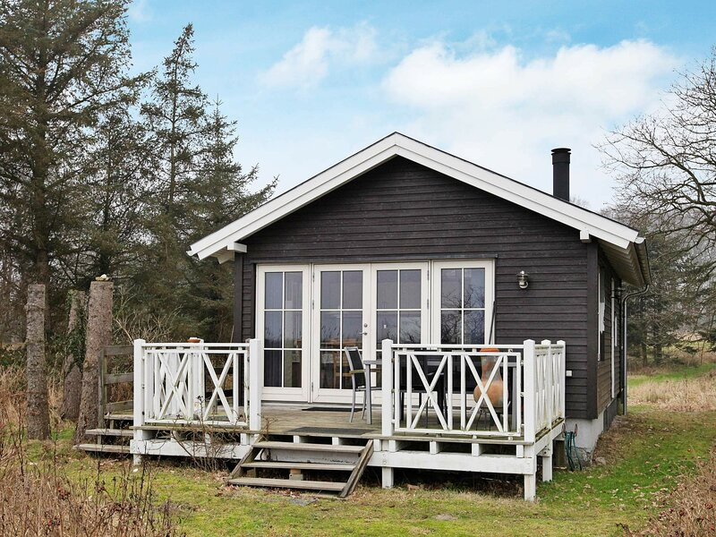 Modern Holiday Home in Oure Denmark with Terrace, holiday rental in Tranekaer