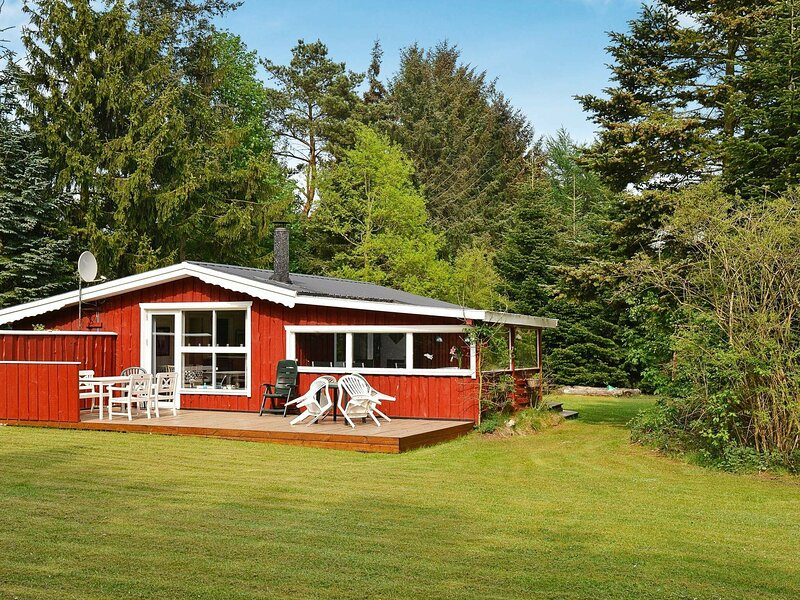 Modern Holiday Home in Ans with Barbecue, casa vacanza a Kjellerup