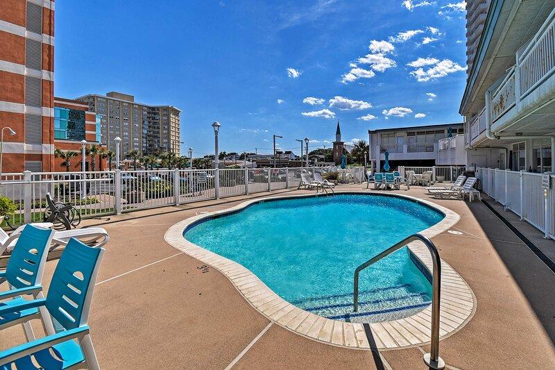 Oceanfront Resort Studio on Virginia Beach!, vakantiewoning in Virginia Beach
