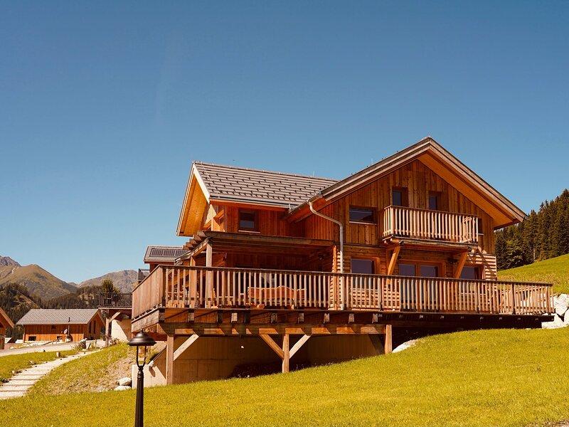 Wooden Luxury Chalet 'Murmeltierhütte' in Hohentauern with Sauna, holiday rental in Moederbrugg