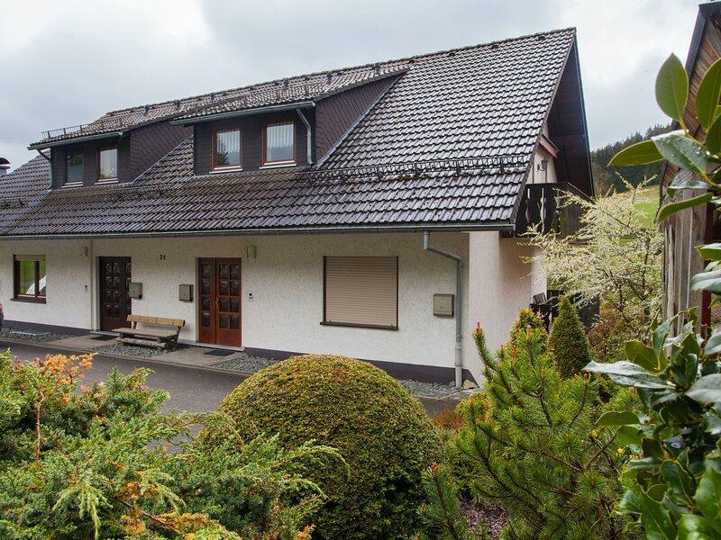 Cosy apartment in Winterberg-Niedersfeld with balcony and garden access, casa vacanza a Niedersfeld