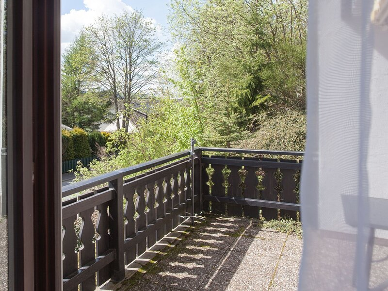 Modern apartment in Niedersfeld with balcony near the Hillebachsee, casa vacanza a Niedersfeld
