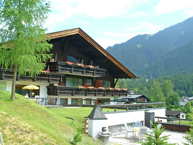 Mountain-view Apartment in Auland Bei Seefeld with Balcony, holiday rental in Seefeld in Tirol