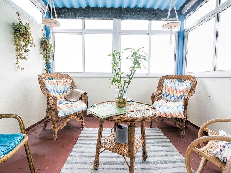 Snug Apartment in Santiago de Compostela with Terrace, holiday rental in Brion