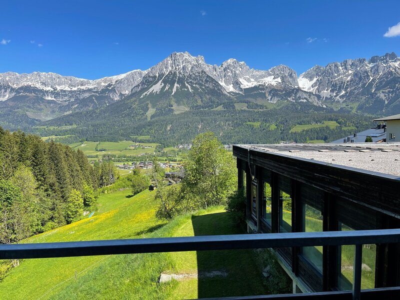 Comfortable apartment in Ellmau with a balcony, holiday rental in Going am Wilden Kaiser