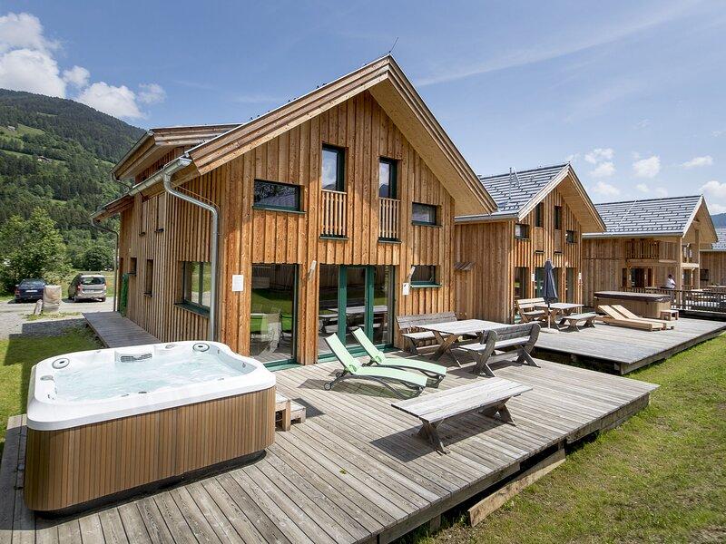 Modern Wooden Chalet in Sankt Georgen ob Murau with infrared Sauna, holiday rental in St. Lambrecht
