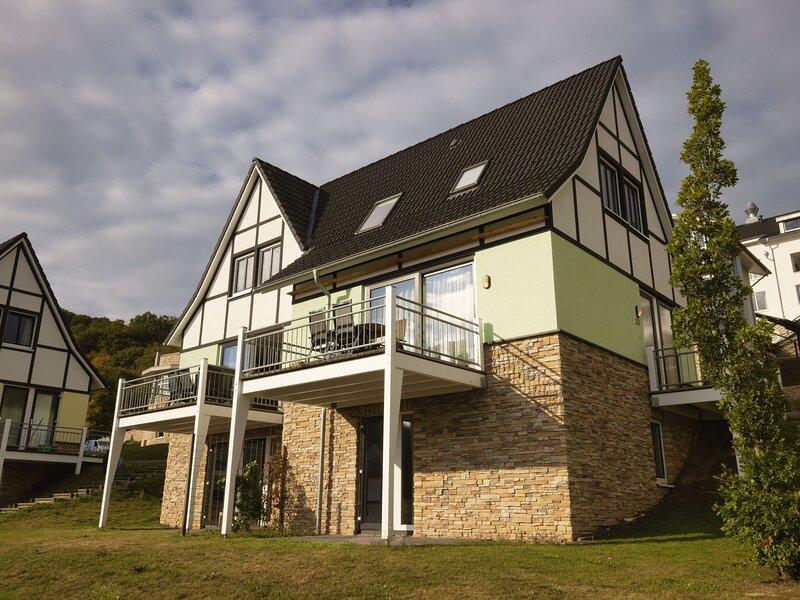 Semi-detached, nice villa with sauna, near a lake, holiday rental in Nideggen