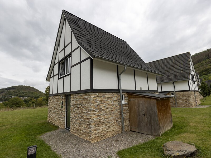 Detached villa with sauna, with view at the Rursee, holiday rental in Nideggen