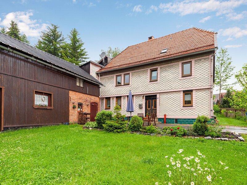 Spacious Apartment in Benneckenstein with Garden, Barbeque, location de vacances à Hohegeiss